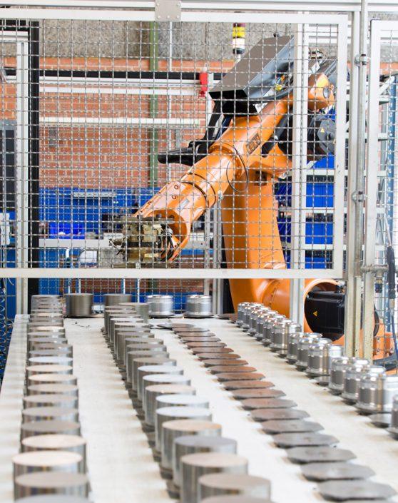 cylinderproduktion robot