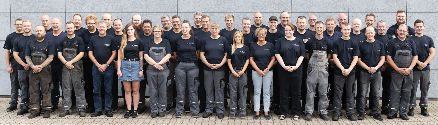 Employees at Hydraflex 2019